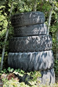 Tires at Aero Powell River Services